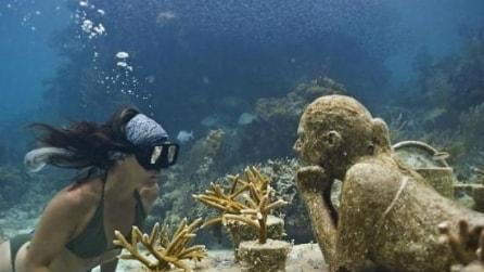 Meraviglie in Messico, ecco il museo subacqueo di Cancun