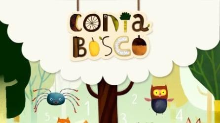 La prima app per insegnare la matematica ai bambini si chiama Contabosco