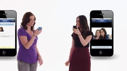 Bump, applicazione mobile dedicata alla condivisione dei file tra dispositivi in modalità wireless.