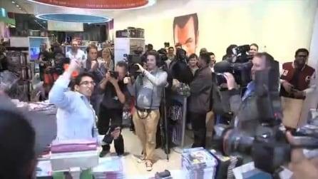 L'uscita di GTA 5 allo store di GAME a Stratford