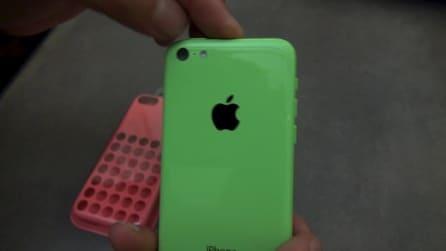Unboxing iPhone 5c e cover 5c e 5s