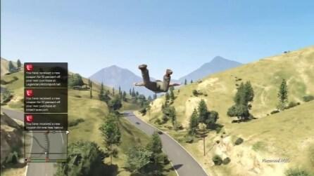 Trucco per volare in GTA 5 come Superman