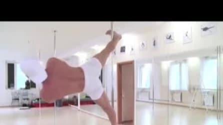 Kristian è il primo campione uomo di Pole Dance