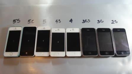 Tutti gli iPhone di Apple sottoposti ad un test di velocità