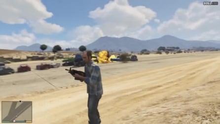 GTA 5: 100 auto esplodono in sequenza