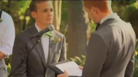 Matrimonio gay, la commovente promessa di Jordan