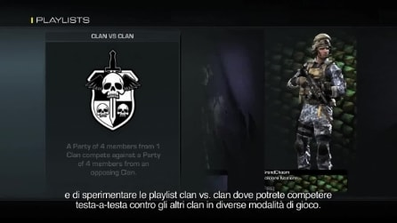 Trailer ufficiale dei Clan in Call of Duty: Ghosts