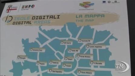 Le isole digitali di Milano per l'Expo 2015