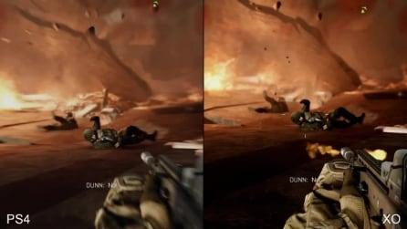Comparazione Battlefield 4: PS4 vs XBOX ONE