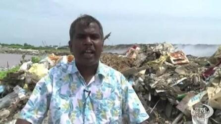 L'atollo pattumiera delle Maldive