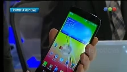 LG G Flex mostrato per la prima volta dal vivo