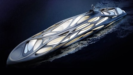 Zaha Hadid & Blohm+Voss per Superyacht da record