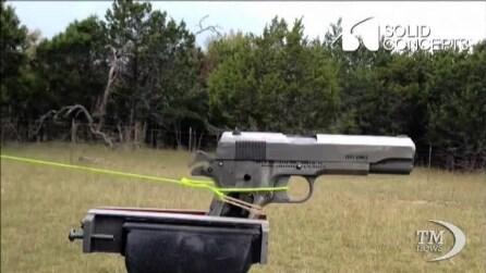 Dagli Usa la pistola d'acciaio realizzata con la stampante 3D
