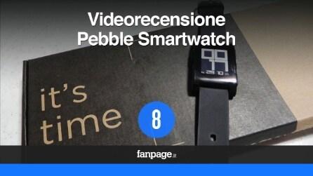 Pebble Smartwatch: la videorecensione