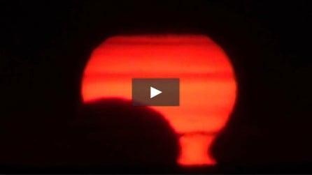 Florida, l'alba dell'eclissi solare anulare