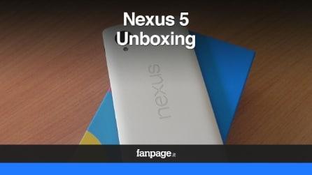 Google Nexus 5, unboxing