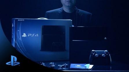 Il Video Unboxing Ufficiale di PS4