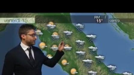 Previsioni meteo per venerdì, 15 Novembre