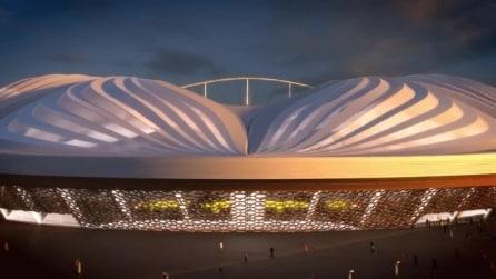 "Lo stadio ""sexy"" di Al Wakrah Stadium progettato da Zaha Hadid"