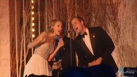 William duetta con Tylor Swift e Bon Jovi al Winter Whites Gala