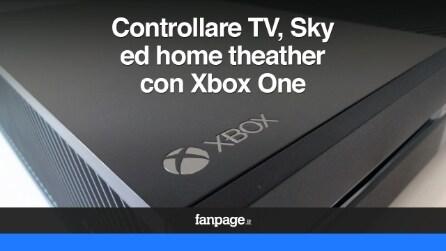 Xbox One controllare Sky Italia, TV ed Home Theater