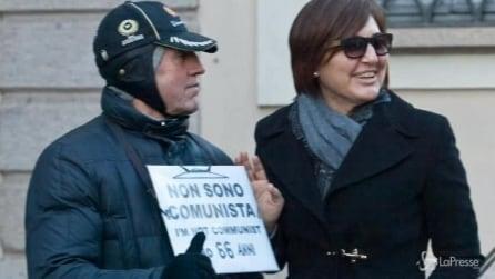 Renata Polverini cede al fascino milanese dello shopping