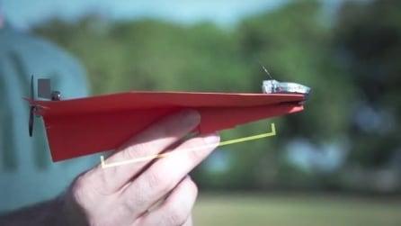 PowerUp 3.0 - L'aereo di carta comandato dallo smartphone