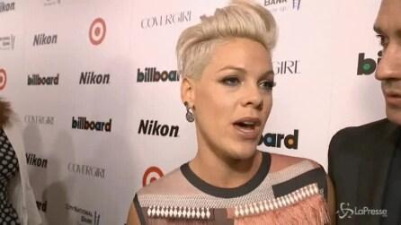 Pink è la donna dell'anno per Billboard, Janelle Monae è astro nascente