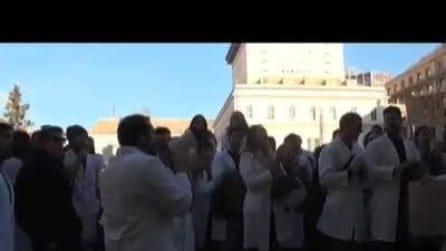 A Genova studenti di medicina in piazza contro tagli alla sanità