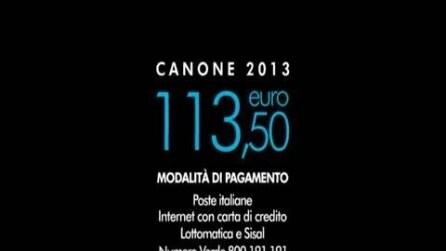 Canone Rai - spot 2013