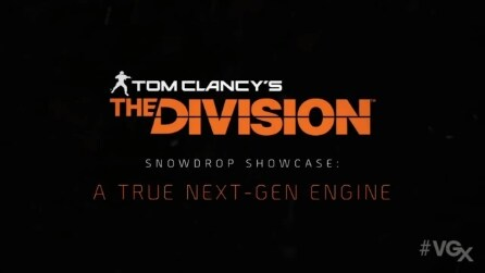 Trailer Tom Clancy's The Division #VGX2013