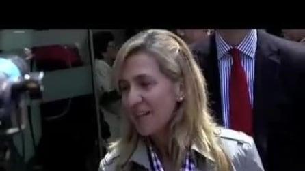Cristina, figlia del Re di Spagna, incriminata per frode fiscale