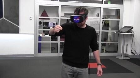 La NASA utilizza Oculus Rift e Kinect per controllare un braccio robotico