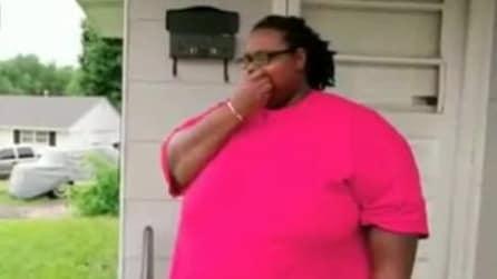 Donna dallo strano peccato di gola: le piace mangiare pezzi di materasso!