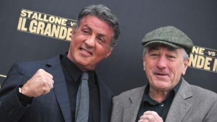 """De Niro e Stallone presentano """"Il grande Match"""": """"Sul ring rendeva di più chi aveva dormito meglio"""""""