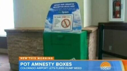 Colorado, installati box per la raccolta della marijuana prima dell'imbarco