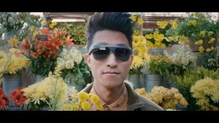 Google Glass universali per occhiali graduati