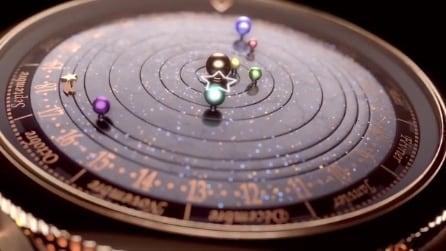 L'orologio astronomico che ricrea i movimenti del sistema solare
