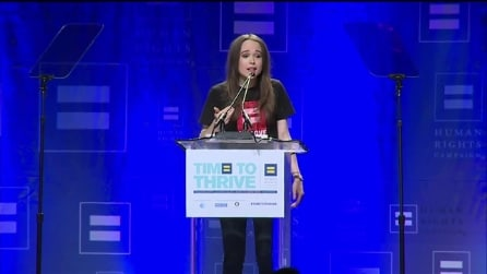 """Ellen Page fa coming out: """"Sono Gay"""""""
