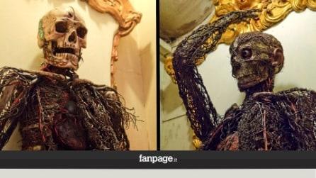 Napoli, svelato il mistero delle macchine anatomiche del principe di Sansevero