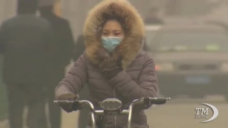 Allarme inquinamento in Cina: esaurite le scorte di mascherine anti-gas