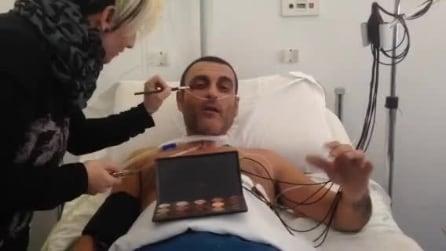 """Sal Da Vinci su Fb: """"Sto benissimo, sto girando il mio nuovo video"""""""