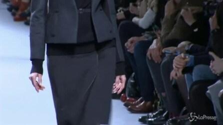 La collezione autunno-inverno di Nina Ricci sfila a Parigi