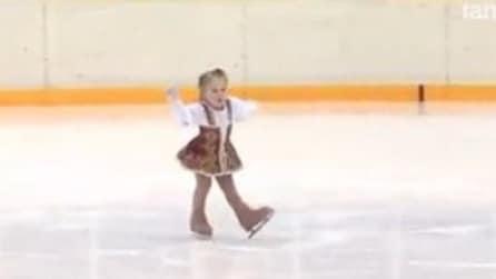 Pochi anni, ma un grande talento per il pattinaggio sul ghiaccio