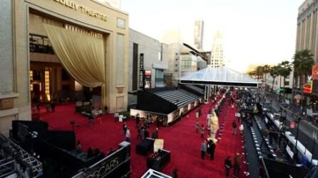 Anche la pioggia si ferma: la notte degli Oscar può avere inizio