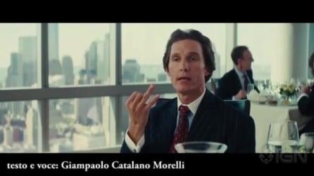 """McConaughey spiega a Di Caprio perché non ha vinto l'Oscar: """"Tutta colpa di Titanic"""""""