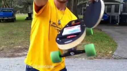 Dalla Florida arriva lo skateboard in grado di contenere un computer