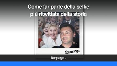 Oscar 2014, come far parte della selfie più ritwittata del mondo