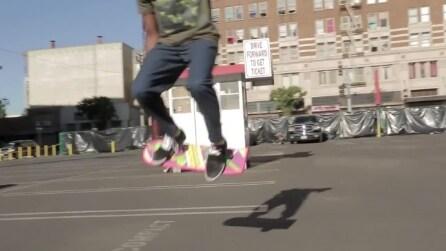 HUVr, lo skateboard di Martin McFly in Ritorno al Futuro è reale