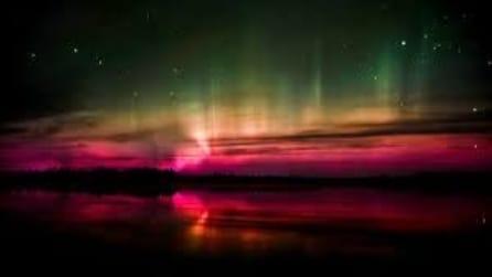 Il fantastico timelapse dell'aurora boreale nel nord degli Stati Uniti